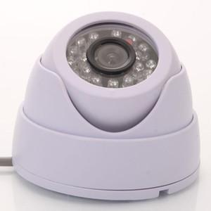 CCTV купольная камера 1200TVL объектив 3.6mm 24IR светодиодные Открытый Водонепроницаемая камера безопасности ночного видения ИК CCTV