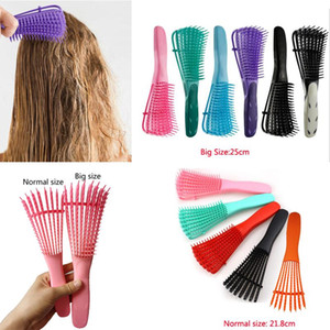 Scalp Massage Detangling Brush For Natural Hair African America 3a To 4c Curly Hair Comb Dropshipping 2020 Best Selling Products yxlYYL