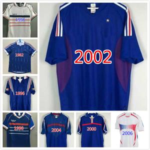1982 FRANCIA Coppa del Mondo di calcio del pullover RETRO Maglia FOOT VINTAGE ZIDANE HENRY di qualità della Tailandia 82 uniformi 83 RETRO blu pullover di football