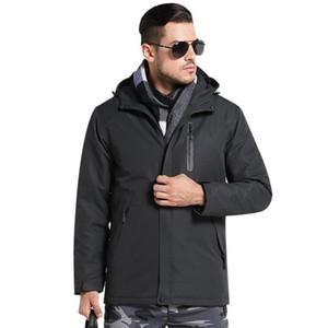 2020 Unisex Warming Heated Vest Smart Constant Temperature Heating Jackets USB Charging One Key Heating Coat ZJ55