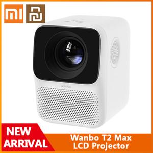 Xiaomi Youpin Wanbo T2 MAX LCD проектор HD вход 1080P вертикальная коррекция ключей камеры все стеклянные объектив портативный проектор