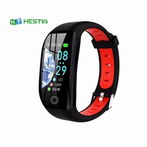 F21 Smart GPS Fitness Activity Tracker IP68 Waterproof Heart Rate Monitor Cardio Bracelet with Blood Pressure SmartBand