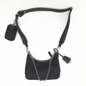 2020 Sale 3 piece Sacchetti impostati per spalla delle donne Cross Body Bag pacco petto della signora Tote di catene borse presbiti tela borse della borsa a tracolla