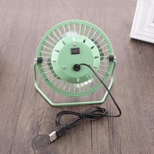 Yaratıcı Mini USB Fan Metal 360 Döndürmek USB Şarj Fan Ofis Masaüstü Soğutucu Soğutma Fanlar Taşınabilir Mikro Sessiz Radyatör Fan 15 * 15 cm DBC VF1571