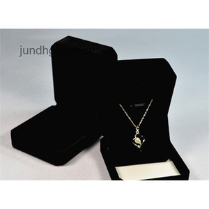 Fashion Wholesale Velvet Jewelry Boxes for Necklace Earrings Delicate Flocking Foldable Jewellery Box Cases Valentine's Day Gift