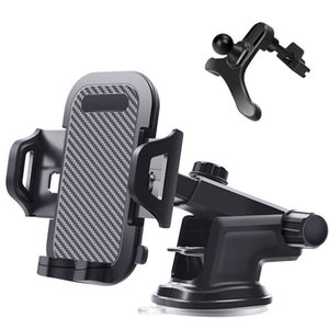 Auto Car Phone holder Dashboard Windshield Air Vent Phone Stand no magnetic Support - inches Mobile Cellphone GPS Car Bracket