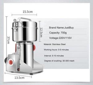 FreeShipping 800g de café seco alimento amoladora molino molino de molienda de la máquina trituradora de medicina en casa granos de polvo de harina