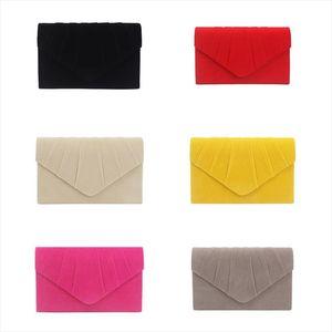 Fashion Women Envelope Evening Clutch Bag Ladies Elegant Wedding Party Handbag Female Stylish Prom Purse Shoulder Bag