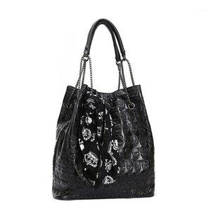 OCARDIAN Сумки сумки для женщин 2019 Большая мода сумка на плечо цепи черепа леди Tote плечо бросает M261