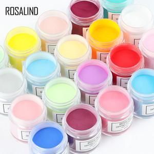 Rosalind-Tauchpulversystem Acrylpulver und -flüssigkeit Nein Notwendigkeitshärtung Quick Nail Dip Pulver für Nail Art Design