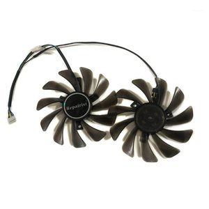 1 Set 95MM PLD10010S12HH FDC10U12S9-C GPU Cooler Fan For Gigabyte RTX2070 GTX1660Ti RTX2060 GTX 1650 RTX 2060 2070 Card Cooling1