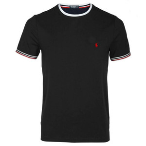 20SS Designer T-shirts Hommes Petit cheval de sport en coton RALPH LAUREN courte marque manches Casual jouer au golf Homme Chemise Homme en coton Polo Shirts