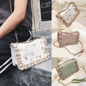 2020 Hot sale new fashion brand luxury UK Womens Quilted Bag Leather Shoulder Crossbody handbag Messenger Purse Drop Shipping Good Quality