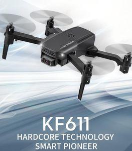 TOP KF611 الطائرة بدون طيار 4K HD كاميرا المهنية التصوير الجوي طائرات الهليكوبتر 1080P HD زاوية واسعة كاميرا واي فاي صورة نقل الأطفال هدية
