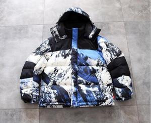 Женщины Мужчины Зимняя Верхняя одежда Мода Даун Parkas Classic Повседневная Куртка Пальто Открытый Теплый Куртка Высокое Качество Унисекс Пальто Обеспечения Высокое Качество