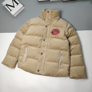 Chrome ch coeur, velours côtelé ultra-épais duvet veste matelassée, chaud, léger, facile à porter et confortable