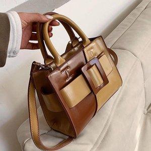 Umhängetaschen Kleiner Designer Frauen Tasche PU Leder Crossbody 2021 Mode Totes Dame Vintage Reisen Weibliche Handtasche und Geldbörsen