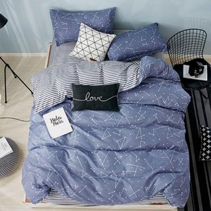 Papa&Mima Soft Bedding Set Sheet Pillowcase Duvet Cover Bed Linens