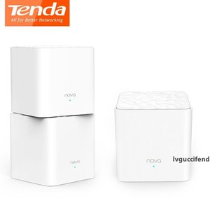 Tenda Nova MW3 беспроводной маршрутизатор AC1200 Dual-Band для Whole Home Wifi Покрытие сетки WiFi Система беспроводного моста, APP Remote Управление