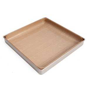 40x60cm 10pcs / set pasticceria da forno Oilpaper Mat Oilcloth antiaderente resistente alle alte temperature del panno del tessuto Forno di cottura olio Carta AHD2636