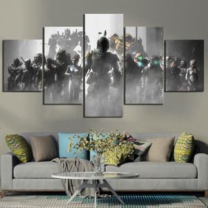 Home Decor Плакат HD Pictures Печать холст 5 шт Dead Space 2 3 Hot Видеоигры Гостиная Искусство Декоративные Обрамлено omxY #