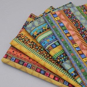 2020 2020 القطن الأفريقي نسيج الكتان عالية الجودة نمط العرقي أقمشة مطبوعة على الملابس DIY اليدوية النسيج الخياطة المرقعة Wu0m #