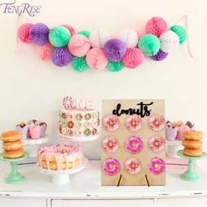 Wooden Donut Wall Stand Donut Party Decoration Doughnut Holder Bride Wedding Party Decor Birthday Party Supplies Baby Shower sqcuME