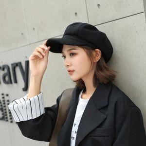 Bérets de luxe populaires de luxe pour femme chapeaux Casque Casque Casquette Femmes Broderie extérieure Avant-Garde Hip Hop Octagonal Baseball Dad Caps