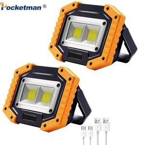 80000lm LED Spotlight portátil COB Light Light USB Recargable Luces de inundación
