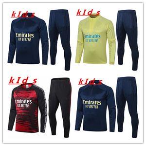 bambini Arsen tuta allenamento vestito Jacket 2020 2021 PEPE NICOLAS CEBALLOS GUENDOUZI SOKRATIS 2020 kit di 2.021 bambini cannonieri giacca da allenamento