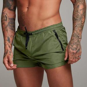 Nouveaux maillots de bain Sexy Hommes respirant Mens de baignade Sunga Soft Soft Natation Trunks Suit Support Hommes Board Surfing Short Shorts Slips