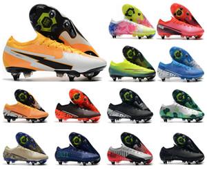 2021 الرجال VA POR XIII Elite SG-PRO AC Low 13 Daybreak CR7 رونالدو 360 صبي كرة القدم أحذية كرة القدم أحذية US6.5-11