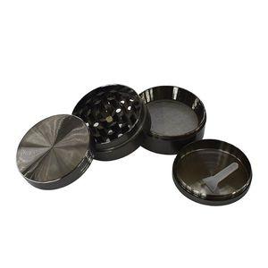 DHL SharpStone Flat Concave Zinc Alloy Dry Herb Grinders 50mm 4 parts Tobacco Grinder herb grinder cnc te Spice Crusher NWD2340