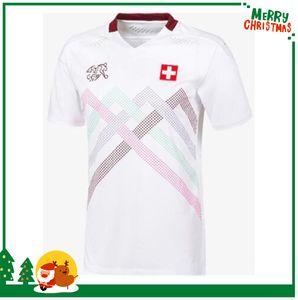 2020 Suiza Jerseys de fútbol Aerorazamiento 2021 Suiza Akanji Zakaria Rodriguez Equipo Nacional de Elvedi Camisas de fútbol