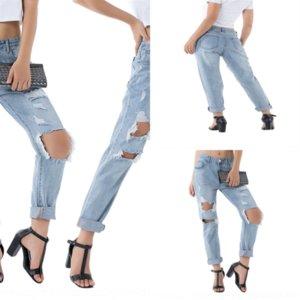 8EZ8 Mujeres Jean Denim Femme Pantalona Spring Lady Ladies Jeans Slim Ropa Casual Vintage Algodón Jeans rectos Den Pants Jeans