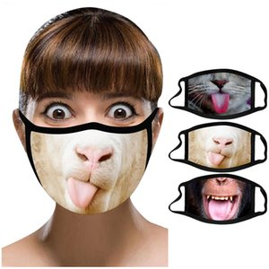 Riding ZMasks Breathable Cosplay Dust-proof Anti-ultraviolet Cotton Costume Funny man facemask party Mask