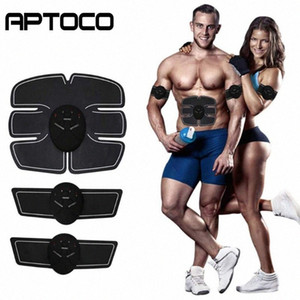 Fitness Muscolo addominale Trainer SME Electric Press stimolatore dimagrante macchina Fitness Gym Equipment Per la formazione Apparato Set DIBE #