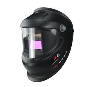 Solar Auto escurecimento elétricos Wlding Capacete de soldador tampa da lente Olhos Máscara para máquina de soldadura e corte plasma 1ff45 Ferramenta