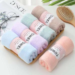 Multi colori Corallo Asciugamano assorbente Asciugamano morbido cura della pelle Buona ventilazione Easy Doccia Doccia Asciugamani Asciugamano 2 35JL L2