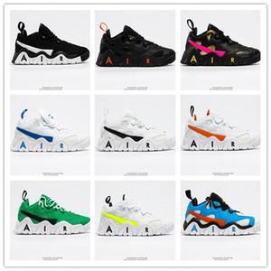 2020 Shoes New Air Barrage Baixa de basquete de alta qualidade Restaurando cultura chinesa Preto Branco Cinza Mens Ar Livre Athletic Sports Sneaker
