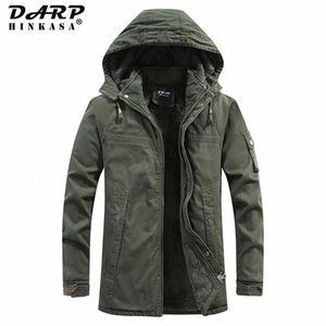 Darphinkasa Winter Warm Men Parkas Chaquetas 2020 New Parka Coat Terce Tight Threapp Trownsproof Chaquetas de invierno Hombres