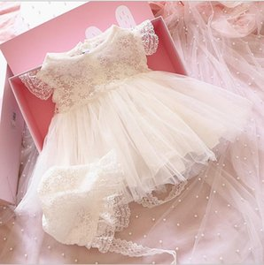 Princess Girl White Lace Romper Dress Newborn Infant Baby Girls Sleeveless Romper Dress Clothes Summer Toddler Girl#apos