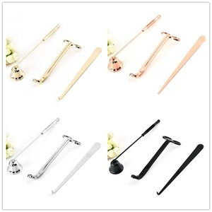 Candle Accessory Set 3Pcs Lot Candle Tool Kit Candles Snuffer Trimmer Hook Great Gift For Scented Candles Lovers GWA8390