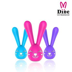 Clitoride ricaricabile Sex DIBE clitoride capezzoli 6 Velocità di giocattoli del sesso stimolatore del coniglio Prodotti Massager del vibratore per le donne Y200616 Vibrato Rmee