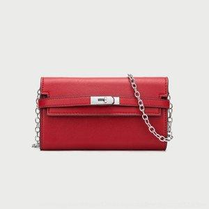 autunno e inverno Emma Fashion litchi modello raccoglitore della mano JI2GJ Shirley Nuova borsa catena 2020 wallet Messenger Bag sottobraccio per le donne 0vzb9