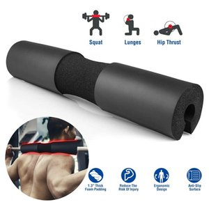 FOAM PADDED BARBELL BAR SQUAT COVER WEIGHT LIFTING SHOULDER SUPPORT