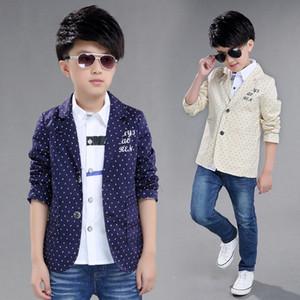 Boys Outwear boy suit Two Button Children Casual Blazer School Boys Formal Suit Jackets Kids Coat Boys Formal Suit Jackets Y200919