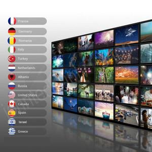 Programm TV 10000Live VOD M 3 U Android Smart TV FRANK FR Canada Arabe Néerlandais Türquie Pays-Bas Australi Allemagne Espagne Show