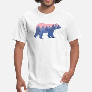 mountain bear T Shirt Funky Breathable Sports Tracksuit Hoodie Sweatshirt