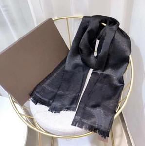 La bufanda de seda Moda Hombre Mujeres 4 sazona la talla del mantón Carta bufandas bufandas 180x70cm 6 en color de calidad superior
